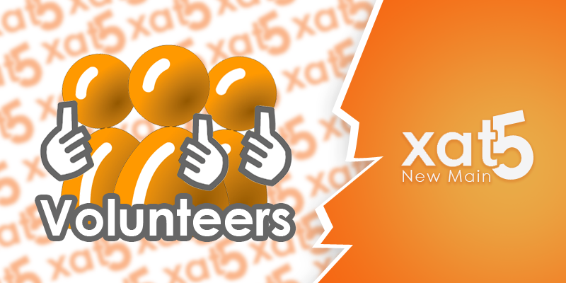 xat test main owner volunteers